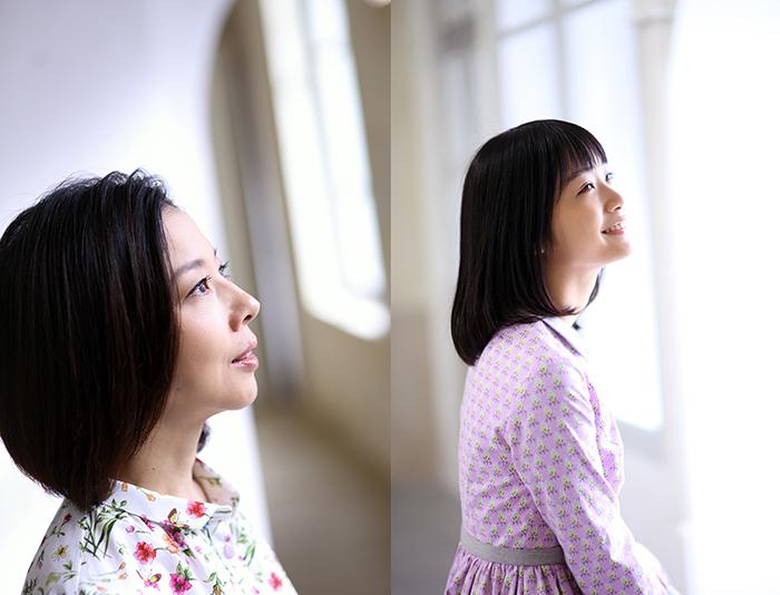 霧矢大夢・深川麻衣(撮影:たかはしじゅんいち)