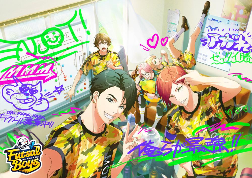 桃実高校キービジュアル (C)FUTSAL BOYS!!!!! ORIGINAL WORK