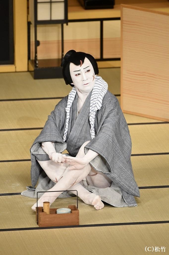 『与話情浮名横櫛 源氏店』切られ与三郎=松本幸四郎 (C)松竹