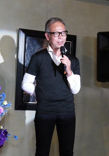 ミュージカル「イヴ・サンローラン」製作発表 朝月真次郎