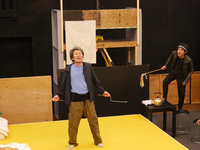 文学座5月アトリエの会『いずれおとらぬトトントトン 』稽古場写真