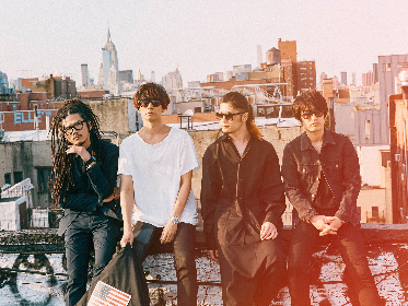 [ALEXANDROS]、ニューアルバム『Sleepless in Brooklyn』を11月にリリース