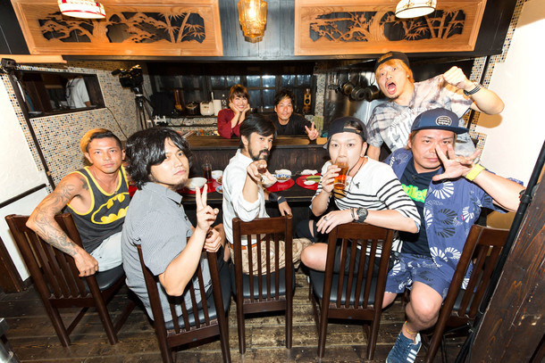 「Kj / ROTTENGRAFFTY / SPECIAL OTHERS / 10-FEET in 桜井食堂 ~Feature of Bowline 2015~」メインビジュアル