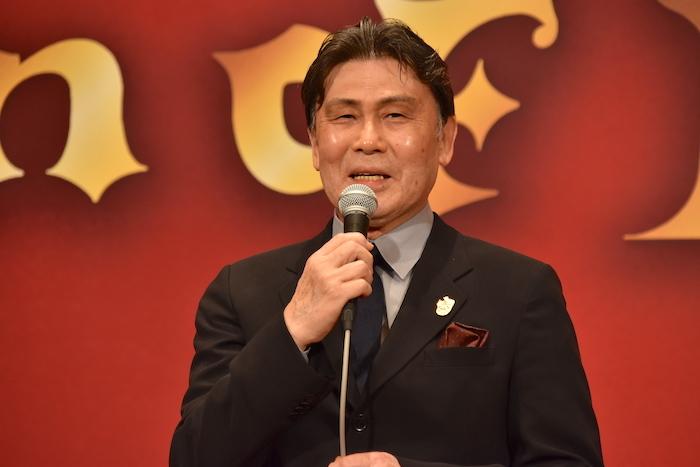 セルバンテス/ドン・キホーテを演じる松本白鸚