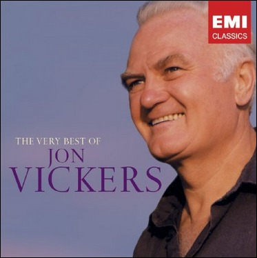 「Very Best of Jon Vickers 」ジャケットより