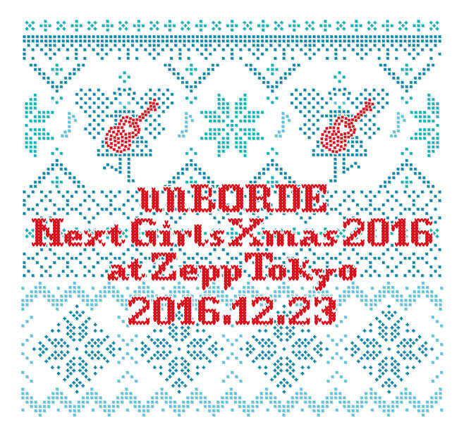 unBORDE Next Girls Xmas 2016