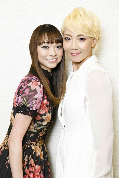 (左から)上野水香、柚希礼音 (写真撮影:中田智章)
