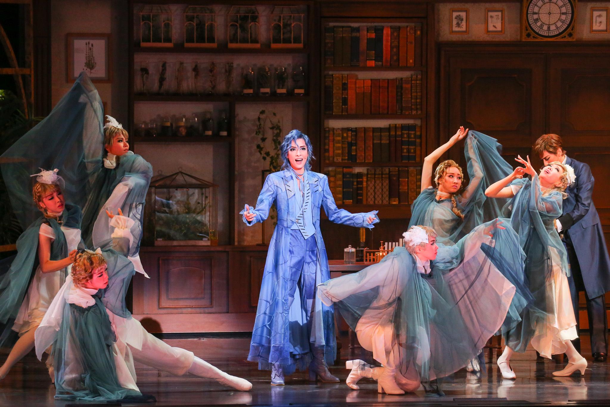 三井住友VISAカード シアターMusical『A Fairy Tale -青い薔薇の精-』 撮影=田浦ボン