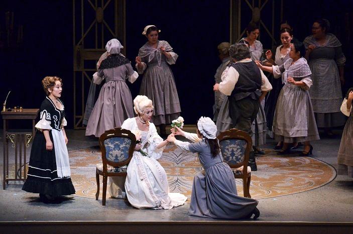 前回(2011年)に続いて伯爵夫人を演じる、関西を代表するソプラノ木澤佐江子は、27日のキャスト (C)早川嘉雄