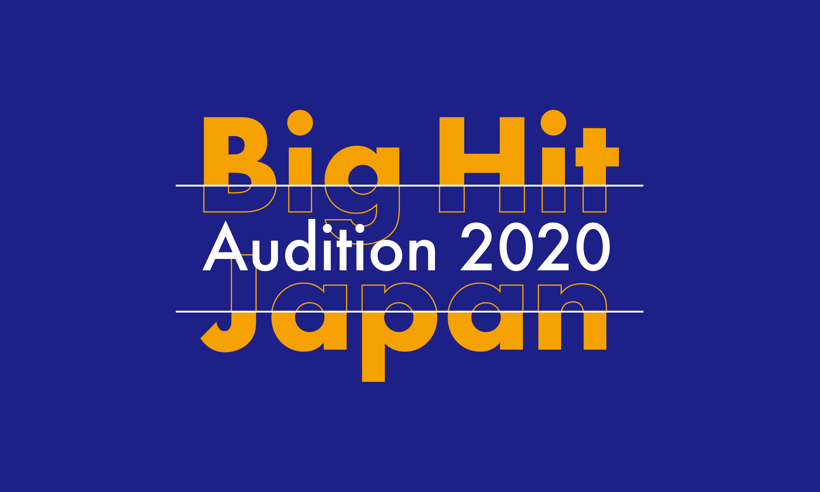 Big Hit Japan Audition 2020