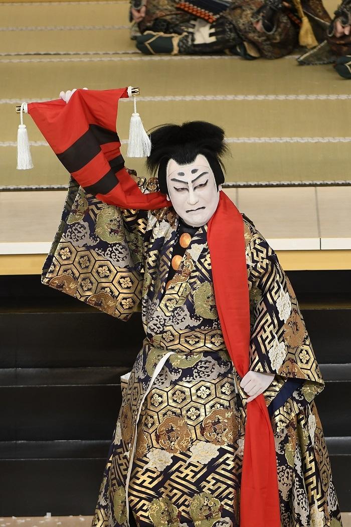 令和2年1月歌舞伎座『奥州安達原』中村芝翫=安倍貞任 /(C)松竹