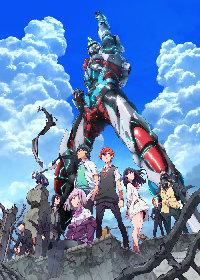 アニメ『SSSS.GRIDMAN』キービジュアル第3弾、OxTによるOP主題歌使用の放送直前PVを公開!
