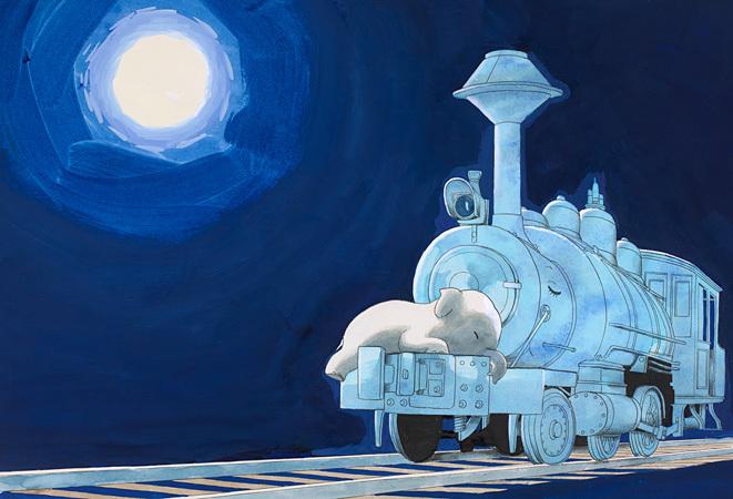 手塚治虫『かわいそうなぞう』1979年 ©手塚プロダクション