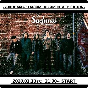 Suchmos、ドキュメンタリーやライブ映像を収めた特別番組『YOKOHAMA STADIUM DOCUMENTARY EDITION』を生配信