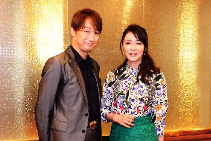 浅野ゆう子と喜多村緑郎が語る! 七月名作喜劇公演『紺屋と高尾』華やかな舞台の純愛喜劇の見どころ