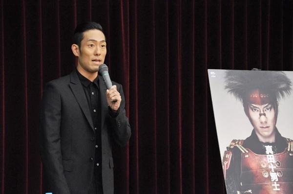 「舞台はハードだけど今回も乗り切りたい」と意気込みを語る勘九郎。