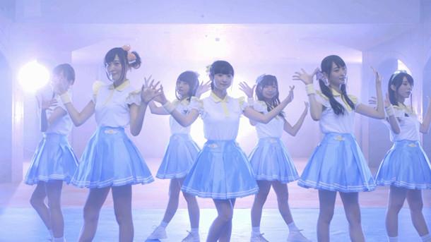 Wake Up, Girls!「僕らのフロンティア」ミュージックビデオのワンシーン。