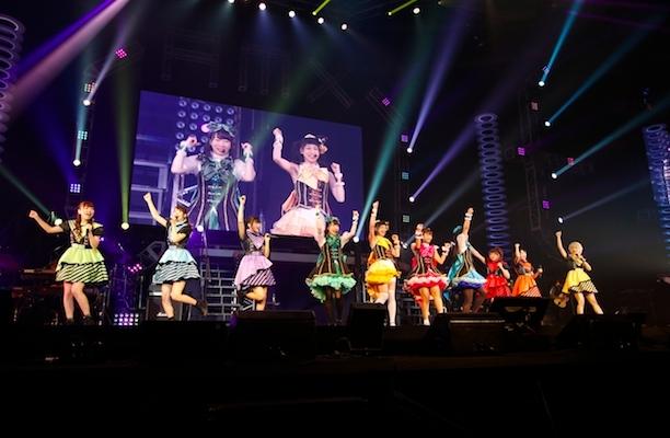 ミルキィホームズとi☆Ris (c)ANIMAX MUSIX 2017 OSAKA