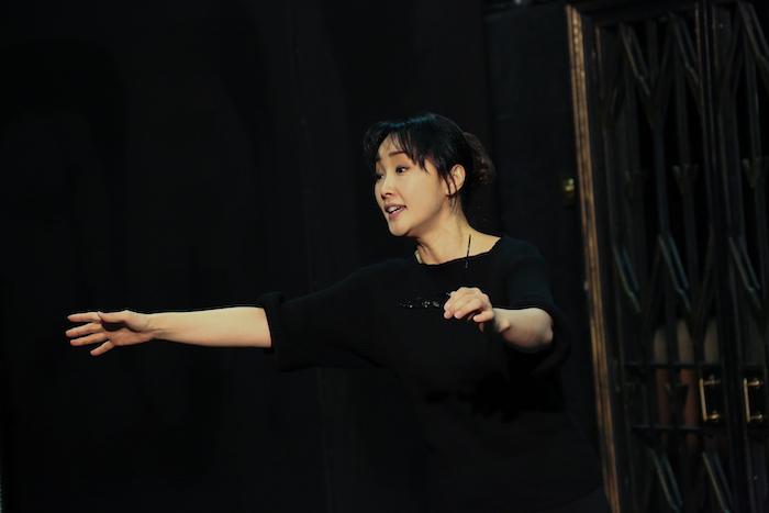 ノーマ役 濱田めぐみ(撮影:宮川舞子 )