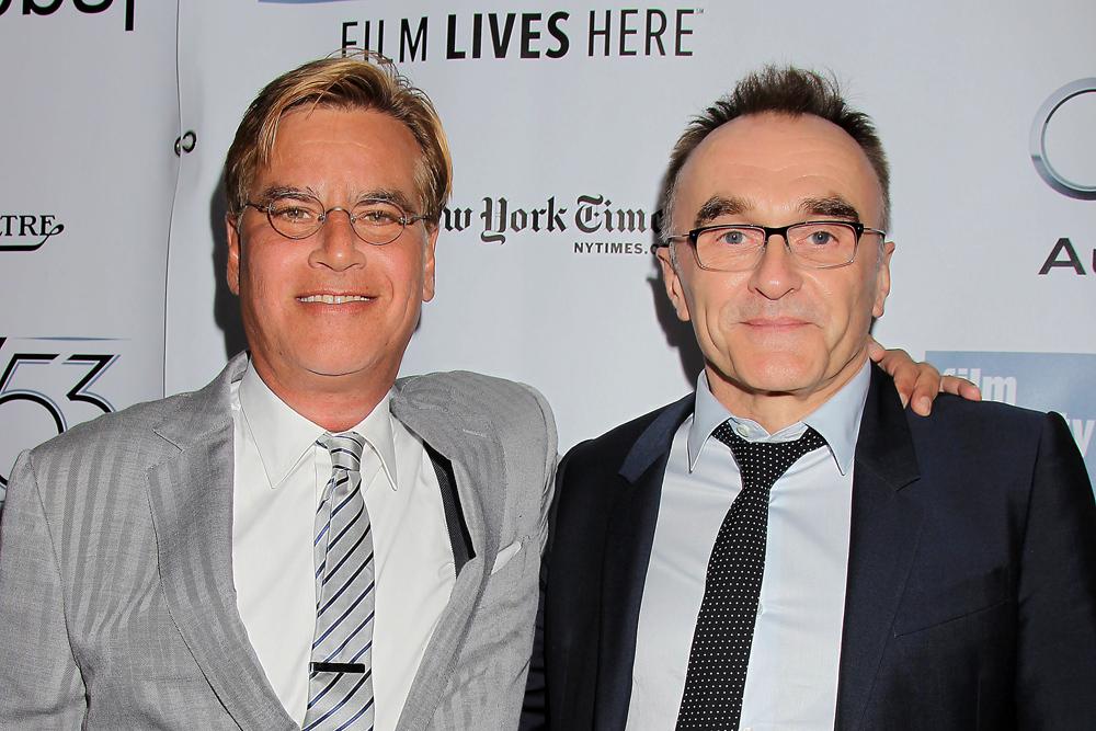 左から アーロン・ソーキン、ダニー・ボイル監督