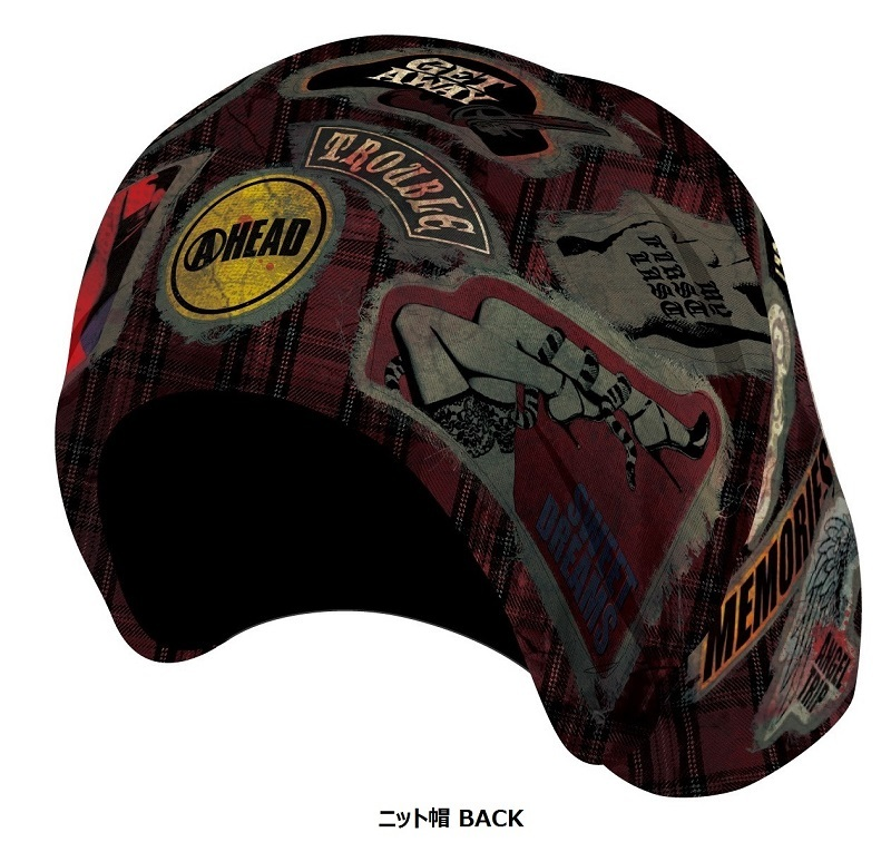 VAMPS ニット帽(BACK)