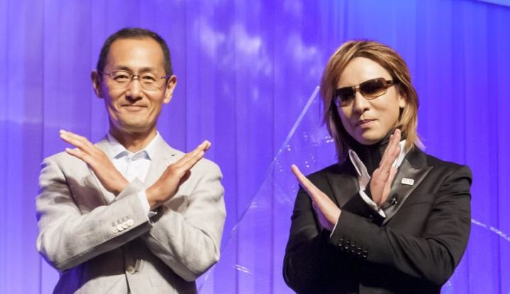 YOSHIKI ノーベル生理学・医学賞受賞者の山中伸弥教授と対談、2020年へ ...