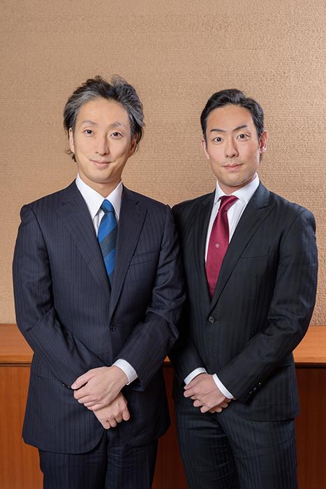 (左から)中村七之助・中村勘九郎