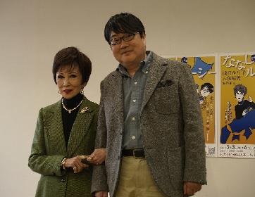 浅丘ルリ子、六角精児が登壇 朗読劇『ななしのルーシー』合同取材会が開催「この物語が持つメッセージは、いまの世の中の人々に届けるべき」