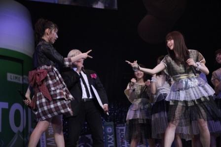 『GUM ROCK FES. In 日本武道館』HKT48×乃木坂46