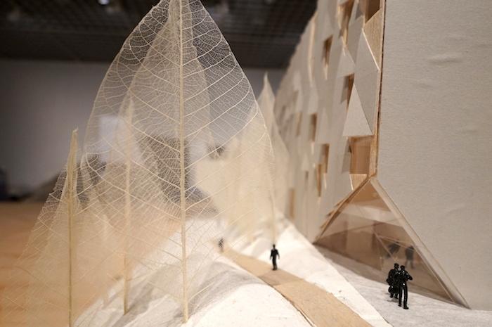 《ダリウス・ミヨー音楽院》(2013 フランス、エクサンプロヴァンス)模型