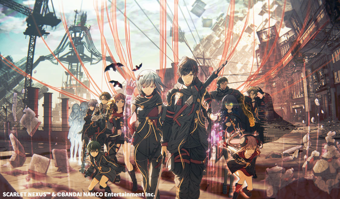 ブレインパンク・アクションRPG『SCARLET NEXUS』ビジュアル SCARLET NEXUS™ & (c)BANDAI NAMCO Entertainment Inc.