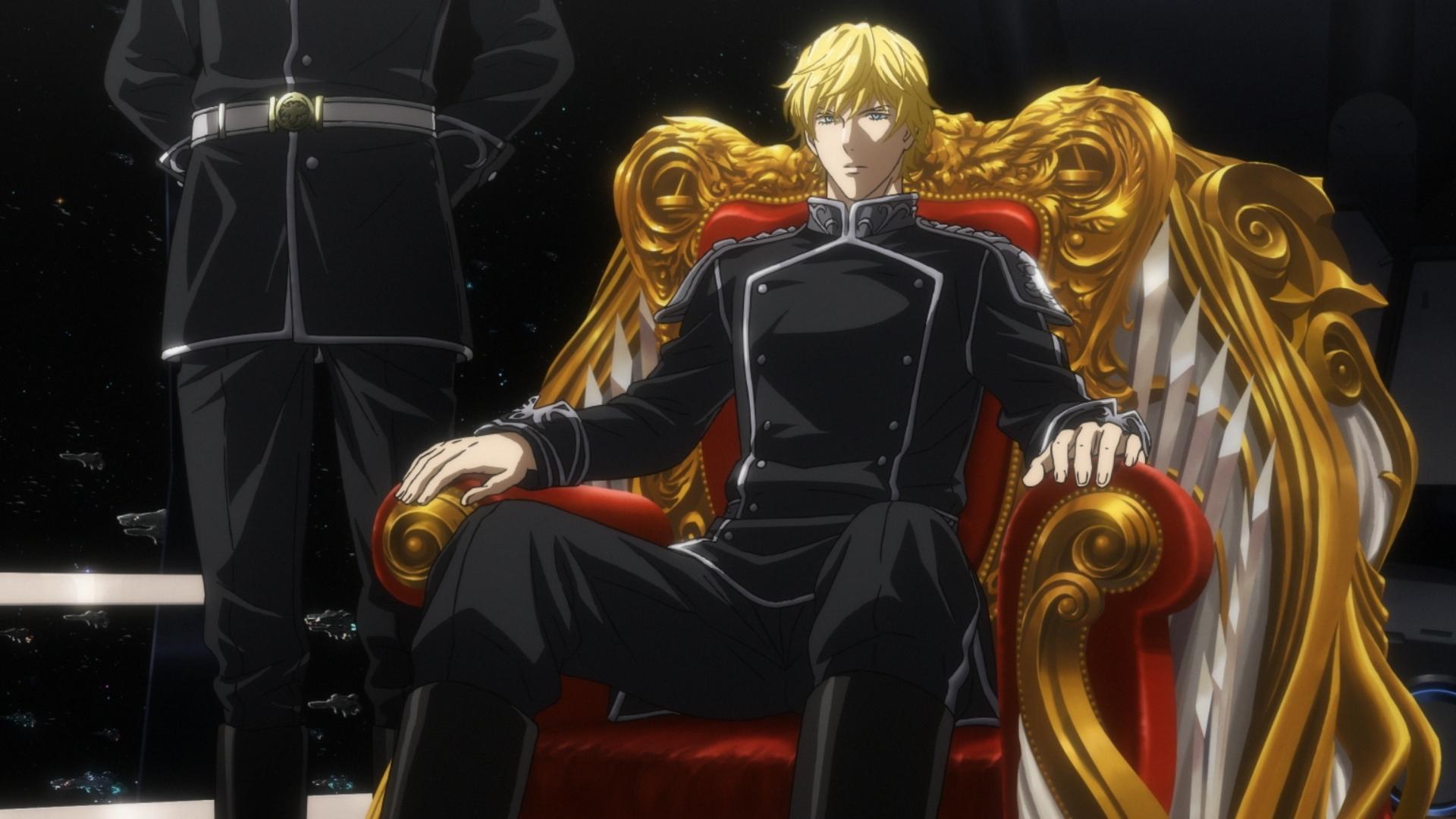 座っている椅子が豪華すぎる銀河英雄伝説の壁紙