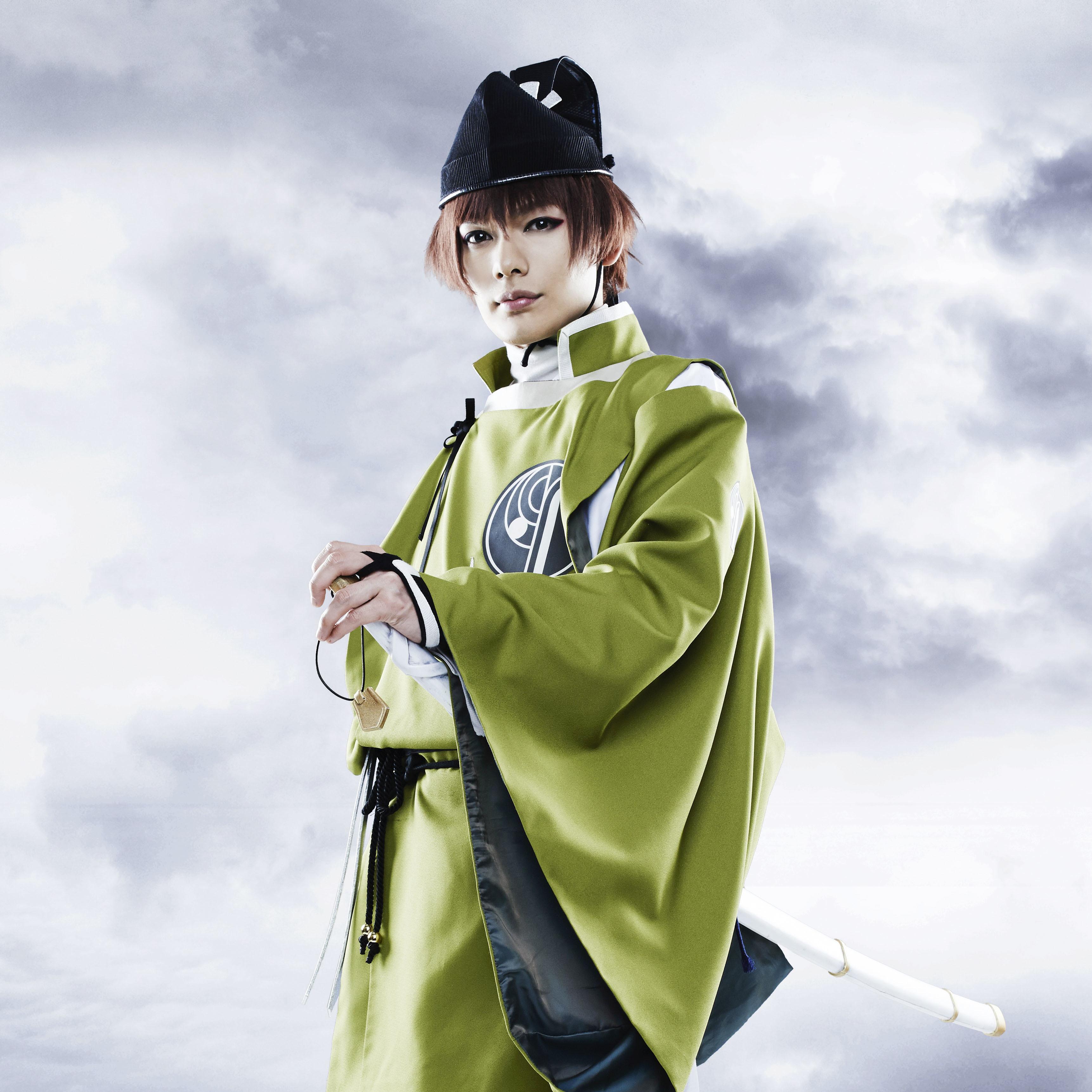 石切丸役 崎山つばさ Ⓒミュージカル『刀剣乱舞』製作委員会