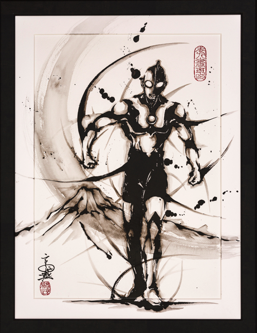 『ウルトラマンシリーズ』武人画