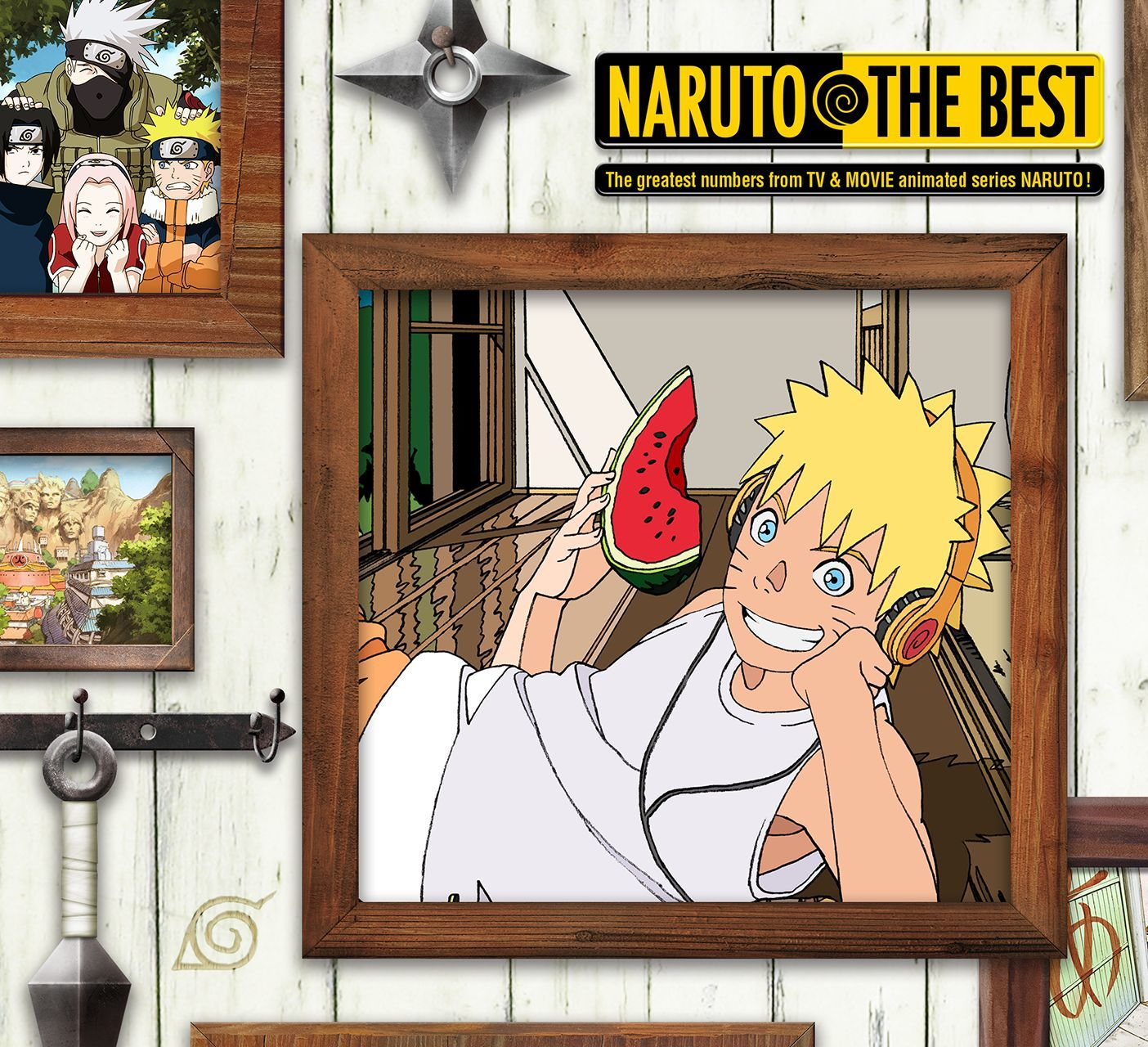 NARUTO THE BEST ©岸本斉史 スコット/集英社・テレビ東京・ぴえろ