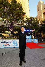 DREAMS COME TRUE・中村正人が「ウメダ☆アイスリンク 氷deつるんつるん」イルミネーションツリーの点灯式に参加