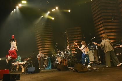 赤い公園、ラストライブとなった中野サンプラザ公演の映像作品を9月にリリース決定