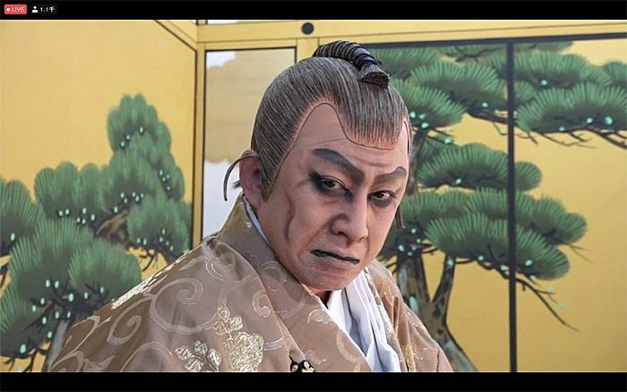 「図夢歌舞伎『忠臣蔵』第一回」より 高師直=松本幸四郎 (C)松竹