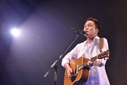 小田和正 約7年ぶりのライブ映像作品のリリースに先駆けて、NHK BSプレミアムにて貴重なライブ映像の放送が決定
