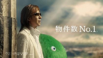 YOSHIKI 不動産・住宅サイト「SUUMO(スーモ)」新CMに出演、古代神殿跡を舞台に情熱的なスーモマーチを演奏