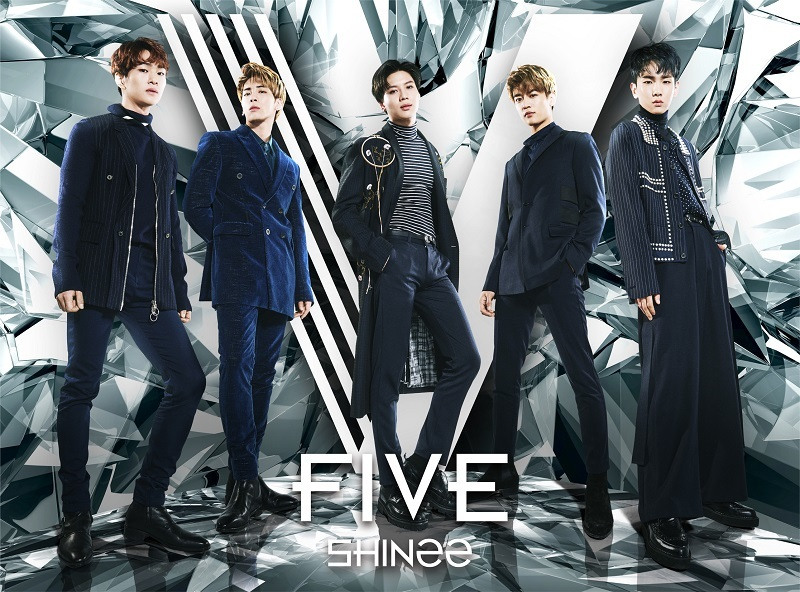 SHINee「FIVE」初回盤A,B