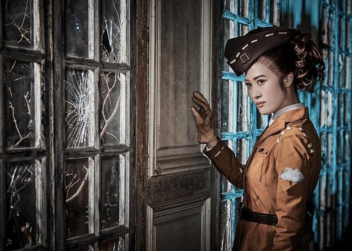 空軍/マーサ・べハムフィール役の山田美貴