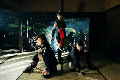 『HiGH&LOW』シリーズの二人が激突するシーンも! 小倉優香主演の忍者アクション『レッド・ブレイド』予告編を公開