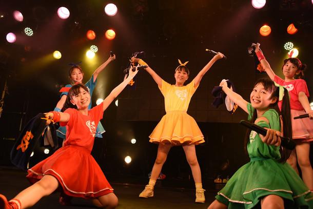 「ときめき▽宣伝部 渋谷クアトロックオーン▽!! ~オルスタライブ Vol.1~」の様子。