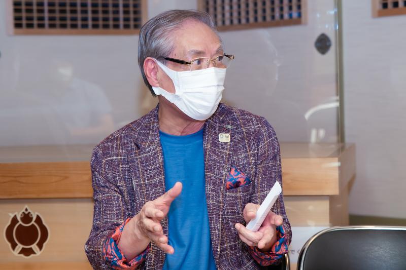 連雀亭のオーナー 加藤伸氏