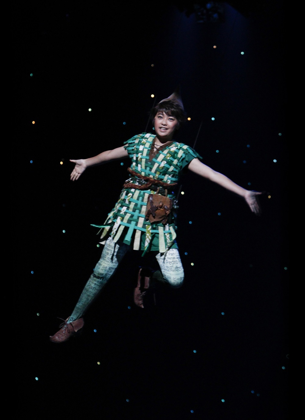 ピーターパン役 吉柳咲良 ※前回の公演より