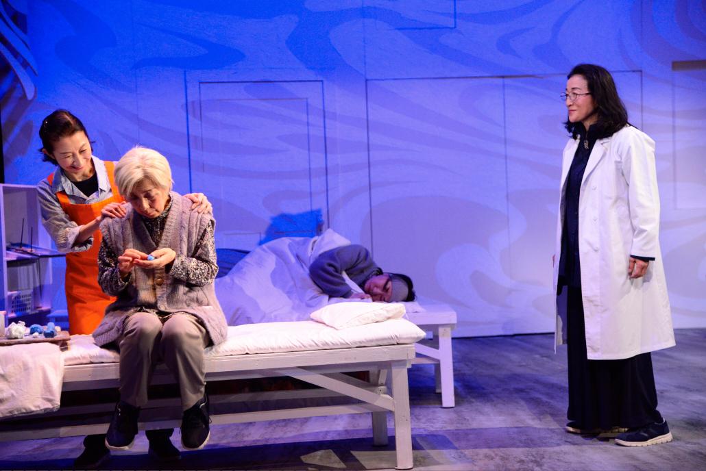 オフィス3 ◯◯公演 『鯨よ!私の手に乗れ』