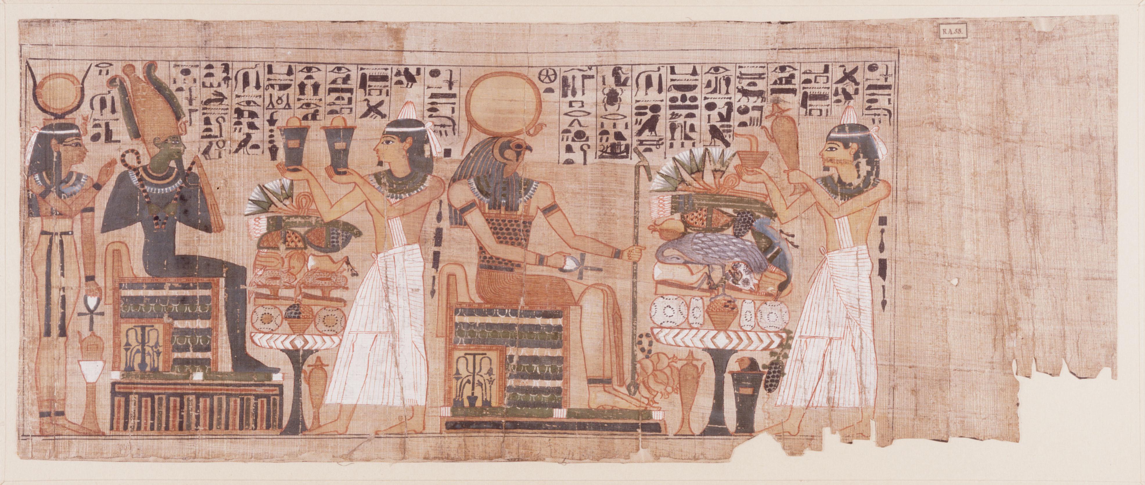 『ライデン国立古代博物館所蔵 古代エジプト展』「パディコンスの『死者の書』」