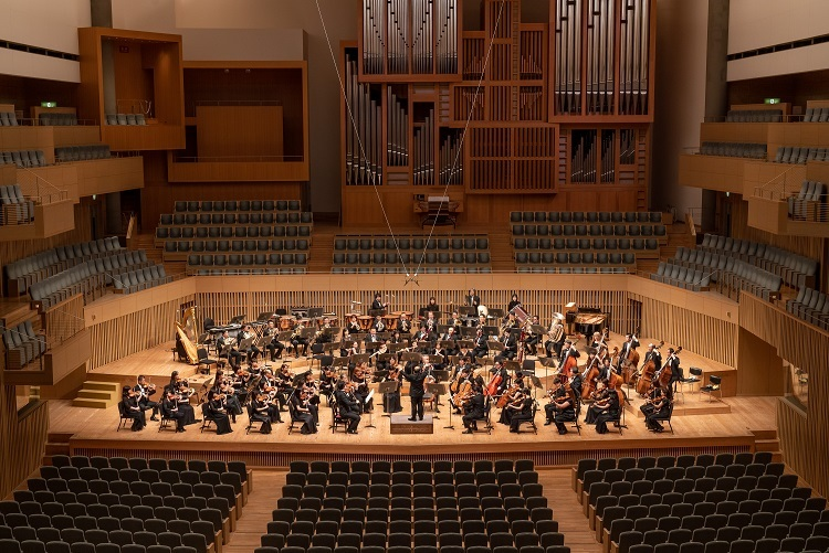 日本を代表するオーケストラ京都市交響楽団 (c)井上写真事務所 井上嘉和