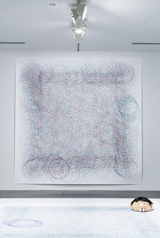 デイヴィッド・シュリグリー「アーティスト」2014 Courtesy: Artist and Stephen Friedman Gallery, London 撮影:NGV Photographic Services